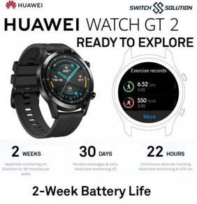 Huawei Watch GT 2 AMOLED Original Huawei Malaysia