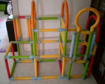 Foldable kids climber