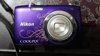 Nikon coolpix s2600 - faulty