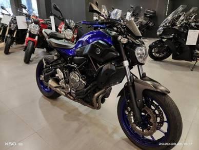 2017 Yamaha mt07 mt-07