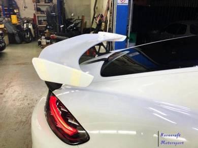 Porsche cayman Boxster 718 GT4 Rear Spoiler