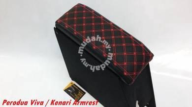 Perodua KenarI Redline Design Armrest Console Box