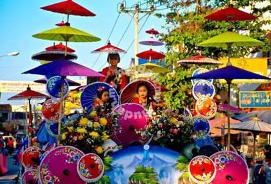 4D3N FullBoard Muslim Chiang Mai Tour Package