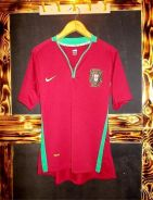 Portugal football euro 2008 home jersey
