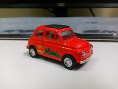 Lot of 2 collectible classic Fiat 500