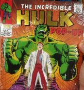 New The Incredible Hulk Pop-Up Book #4 Marvel