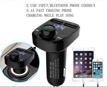 4 in 1 bluetooth handfree car fm transmitter usb