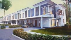 Freehold, 2 storey terrace,0% downpayment