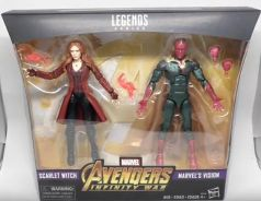 Avengers Infinity War Scarlet Witch and Vision