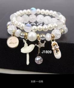 Roman Charm Bracelets J1809