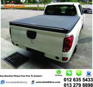 Mitsubishi Triton 4X4 Soft Lid Flat Canvas