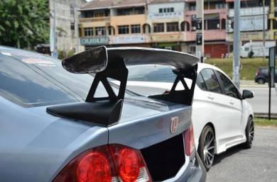 Honda Civic FD City Mugen GT Wing Spoiler Frp