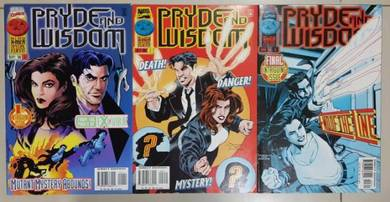 X-Men Solo - Pryde and Wisdom MiniSeries-3 comics