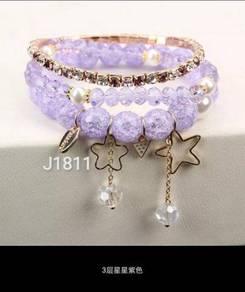 Roman Charm Bracelets J1811