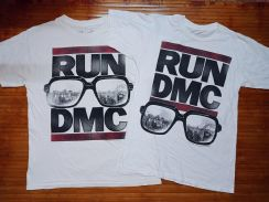 Authentic RUN DMC Crew Neck Combo T-shirts