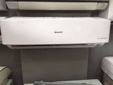 Sharp 1hp inverter aircond