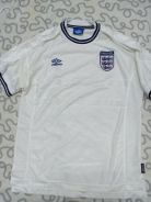 Vintage England 1999 / 01 Home Jersey XL