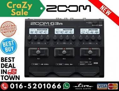 Zoom G3n Multi-Effects (G3-n) Guitar Pedal