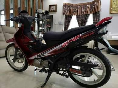2015 Yamaha 125zr untuk di jual. motor standart habis.