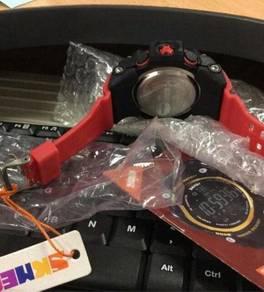Jam.tangan 3d pedometer bluetooth