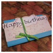Birthday popup card