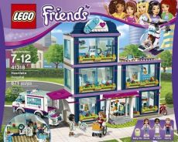 LEGO Friends Heartlake Hospital 41318 (871 Piece)