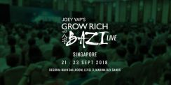 Joey Yap's Grow Rich with BaZi - Singapore