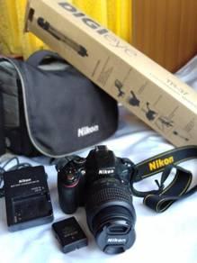 Camera Nikon D5100 Ingin Dilepaskan.