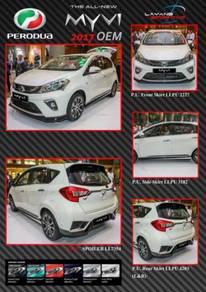 Perodua New Myvi 17''-18'' Bodykit