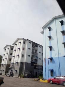 FLAT House Taman Sri Kluang Low Cost