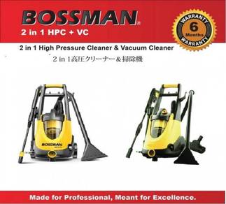 Bossman 2 in 1 high pressure cleaner and vacuum cl