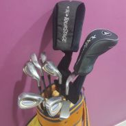 A.m.c (Lady) Full golf set iron driver putter bag