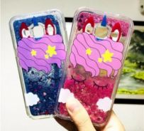 Samsung Unicorn Liquid Glitter Phone Case