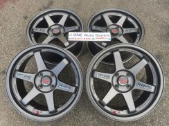 USED TE37 SL 16inc rim for MYVI JAZZ WIRA BLM FLX