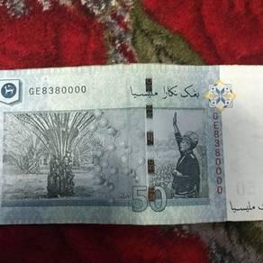 RM50 Untuk Dijual (GE8380000)