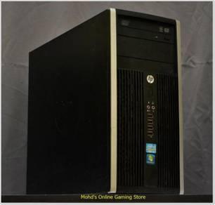HP Compaq 6200 PRO with i5 2400S & MSI GTX750TI OC