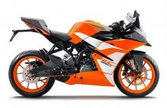KTM RC250 ABS 19 Free Gift Items With Exhaust