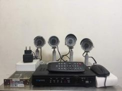 4 Camera (CCTV) & 4 Ch Digital Video Recorder CCTV