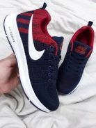 Zoom pegasus navy blue red