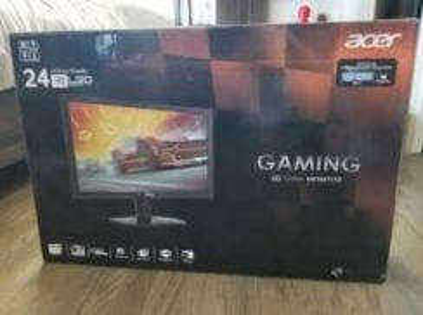 Acer 24kg gaming monitor 24