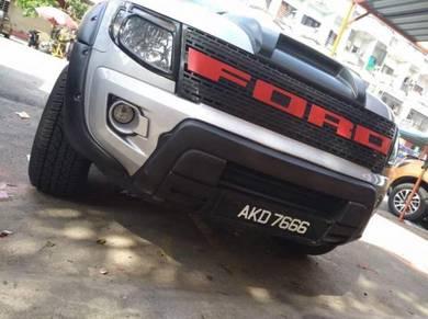 Ford ranger t6 front bumper raptor cover f150