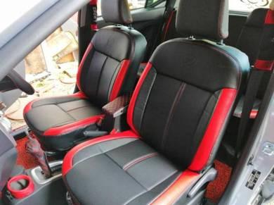 Car seat cover pvc carbon sport design