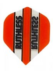 Darts flight ruthless orange 10 sets