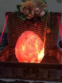 Lampu Garam Mewangi Aura Rezeki