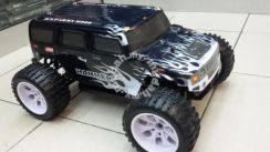 RC Speed Truck 1:10 4WD RTR bodyshell Hummer SALE