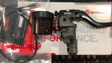 Brembo RCS19 + Smoked Brake Reservoir Set
