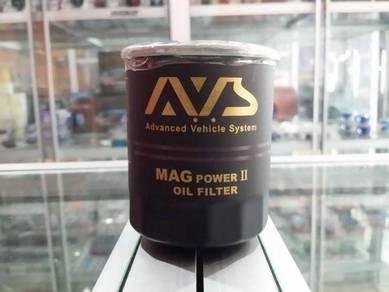 AVS magnetic oil filter