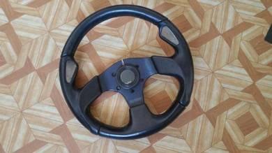 MOMO steering wheel 3 spoke 320 mm MADE IN ITALY