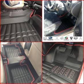 Karpet Kereta 5d Car Carpet Floor Mat