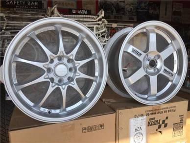 Sport Rim Rays TE37 CE28 Silver 16 Inch NEW